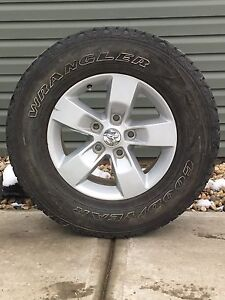 Stock 17 inch dodge rims and tires