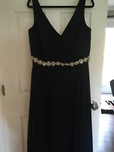 Navy blue Alfred Angelo gown