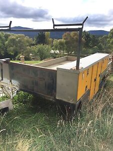 Truck Tray With Hydraulic Lift & S/S Cabinets New Gisborne Macedon Ranges Preview