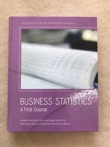Business Statistics a First Course 10th Edition