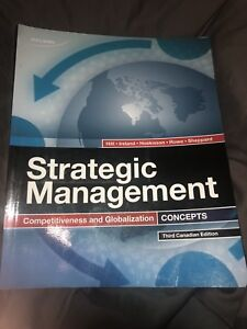 Strategic Management Competitiveness and Globalization Concepts