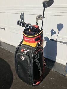 Taylormade R7 irons, hybrids, Burner Superfast driver and Bag