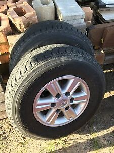 4 x toyot hilux wheels Palmwoods Maroochydore Area Preview