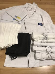 George Brown Chef School - Jackets, Pants, Hats, Aprons, Towels