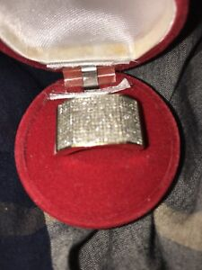 10k gold Big DIAMOND RING