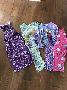 Pyjamas fée clochette la reine des neiges