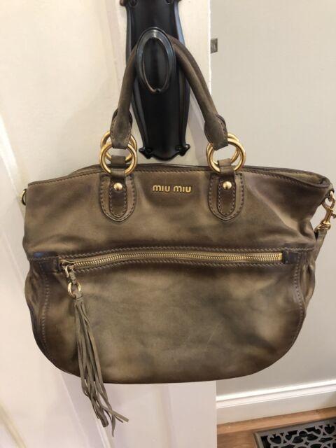 72f2f84cfc9c 100%Authentic Miu Miu lady handbag sell for  699