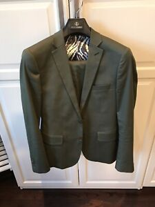 Haight and Ashbury cotton suit 38R