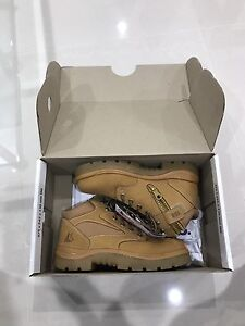 Brand New Steel Blue Parkes Zip Wheat US10 Steel Cap Work Boots Shoes Sydney City Inner Sydney Preview