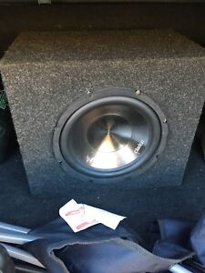 Subwoofer and Amp + Wires