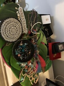Wanted: Mixed dress jewellery beads necklaces and bracelets handmade