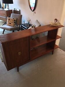 Mid century room divider/shelving cabinet