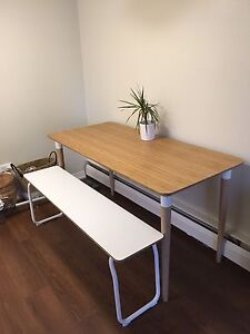 IKEA Hilver Table & PS bench