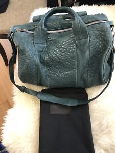 Authentic Alexander Wang Rocco bag in forest green