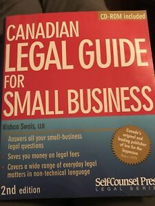 Canadian legal guide for small business book