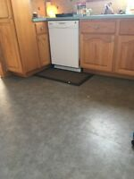 Need Kitchen cushion floor installed Eastern Passage