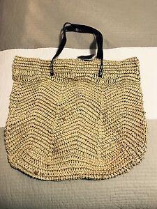 SPORTSCRAFT Straw Tote Bag Beach Shoulder Bag Handbag - NEW $49.95 New Farm Brisbane North East Preview