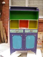 Colourful vintage kitchen cupboard Croydon Burwood Area Preview