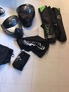 2 save phace masks and mustang pfd $150
