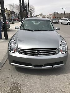 Infinite G35X only 134000 km mint condition