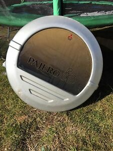 Pajero io spare wheel cover New Norfolk Derwent Valley Preview