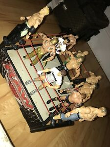 WWE Action Figures & Ring