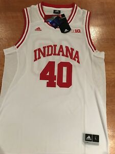 New Indiana Hoosiers Basketball Jersey Large Adidas