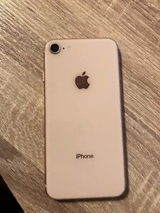 IPhone 8 256gb rose gold mint condition!