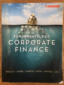 Fundamentals of Corporate Finance 6th Canadian Edition Textbook
