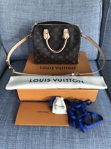 Authentic Louis Vuitton Speedy Bandouliere 25