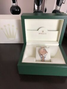 Rolex Datejust 26mm Half Gold jubilee diamond dial