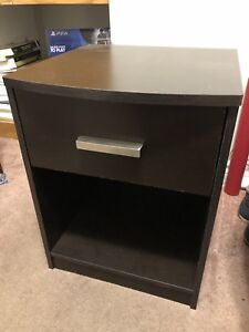 Dark Brown Night Stand