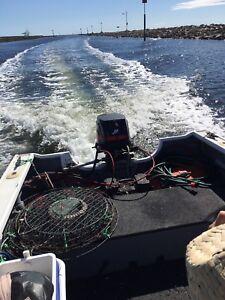 Power boat Quintrex