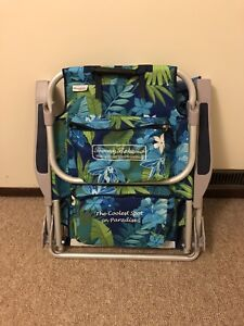 Tommy Bahama beach / camping backpack chair