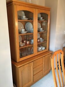 Mint Condition Dining Room Hutch