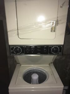Stackable washer / dryer  24 inches . Delivery