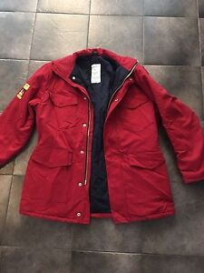 Flame Resistant Insulated Work Jacket Size LRG