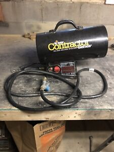 Propane construction heater