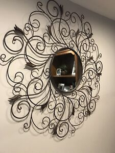 Wrought iron mirror from Pier1