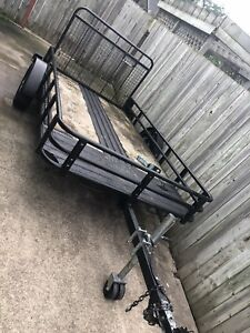 Great utility trailer 5x10 with ramp  SOLD PPU TM