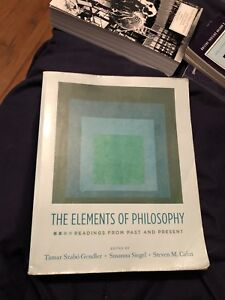 The element of philosophy