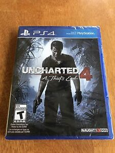 Brand New Uncharted 4 for PS4
