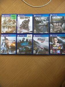 Ps4 game variety, COD need for speed battlefield