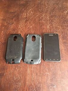 Samsung galaxy S2 with case