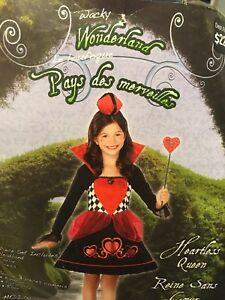 Queen of hearts costume size 7-8