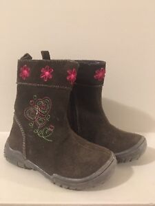 Toddler Girl Size 7 Boots