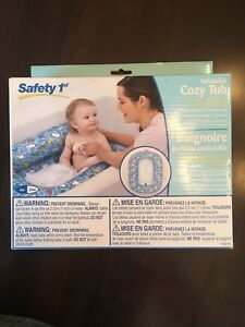 Inflatable infant bath