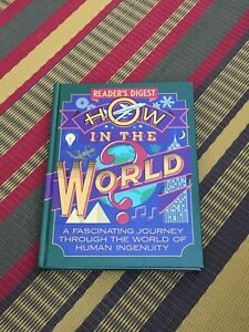 Readers Digest What in the World coffee table book