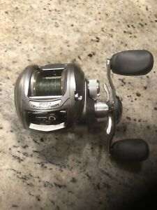 Baitcasting fishing reel, 6.4:1, Left hand retrieve