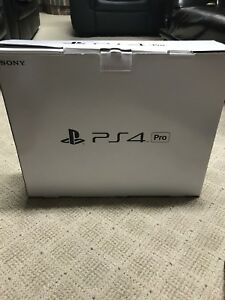PS4 Pro 1 TB With 2 Controllers and 4 Games